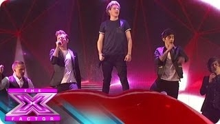 "One Direction Performs ""Kiss You"" - THE X FACTOR USA 2012 uz new clip 2013 you tobe one direction the x factor kiss you"