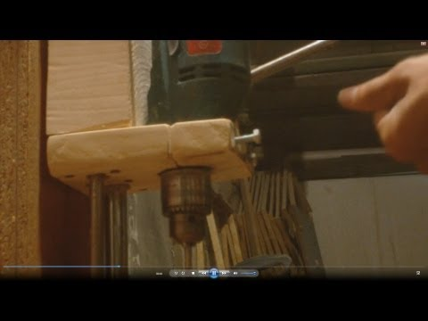 ��� ������� ����������� ������, How to make a drill press, ��� ������� ������� �� ������ �����